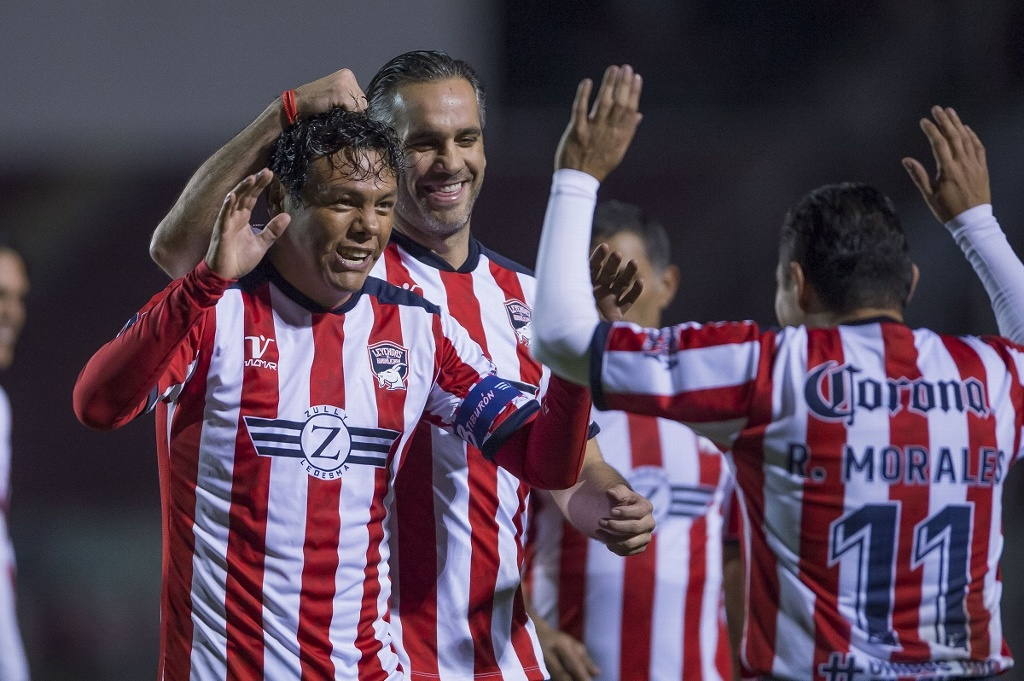 Leyandas de Chivas vencen al Atlas en apoyo a 'Zully' Ledesma (VIDEO)