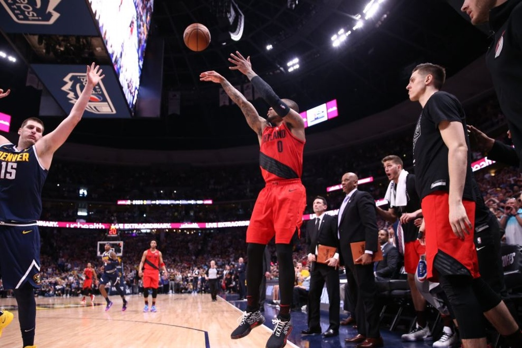 NBA Playoffs: Blazers van a la Final del Oeste